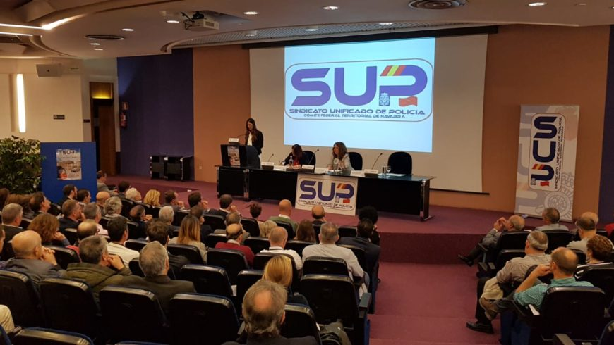 Congreso del Sindicato Unificado de Policía de Navarra