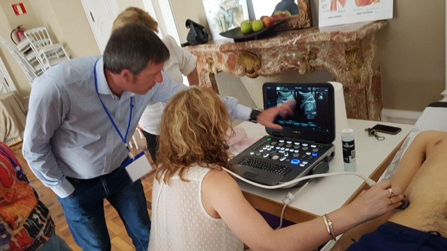 30 médicos de Primaria se forman en Ecografía clínica
