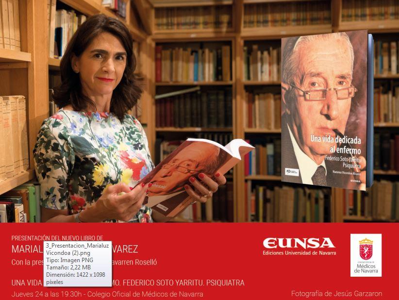 PRESENTACIÓN DEL NUEVO LIBRO DE MARIALUZ VICONDOA ALVAREZ