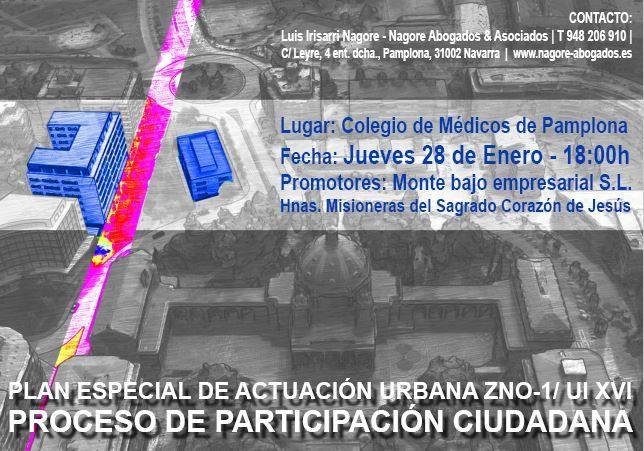 PLAN ESPECIAL DE ACTUACIÓN URBANA ZNO-1/ UI XVI
