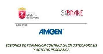 SESIONES DE FORMACIÓN CONTINUADA EN OSTEOPOROSIS Y ARTRITIS PSORIÁSICA